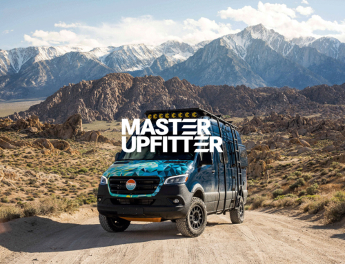 Nomad Vanz is now a Certified Master Upfitter by Mercedes-Benz